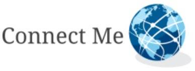 connect me logo first